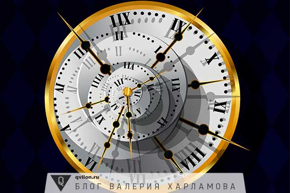 футуристические часы