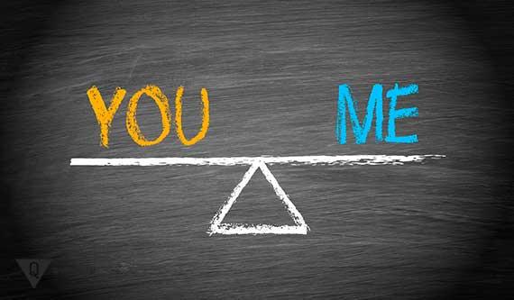 ты и я находятся в равновесии