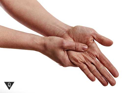 акупрессура рук