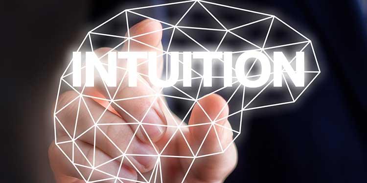 Надпись интуиция