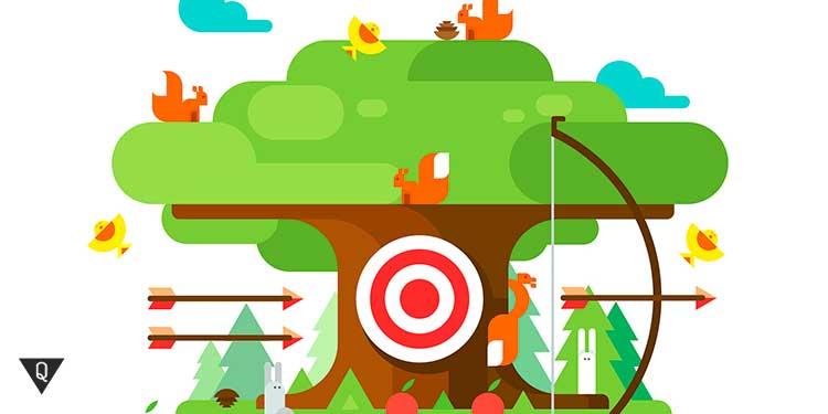 нарисованное дерево целей