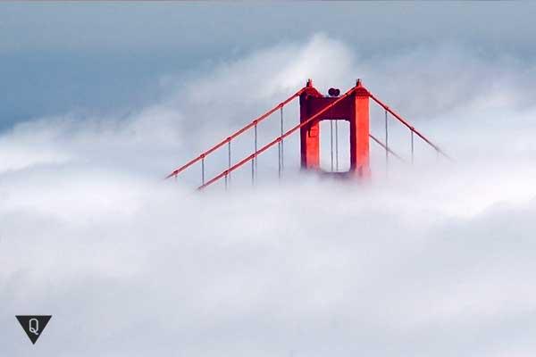 мост в облаках