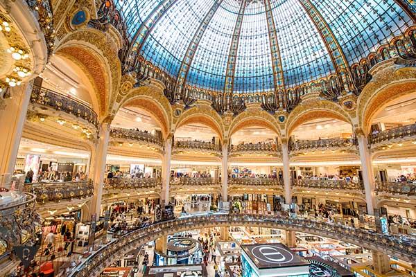 галерея Lafayette в Париже