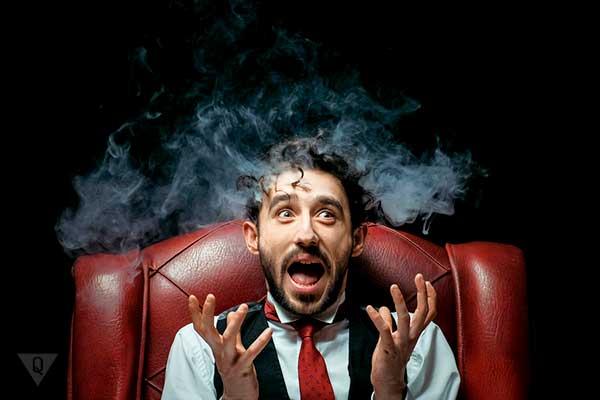 нервный курильщик
