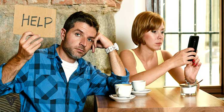 мужчина просит помощи из за интернет зависимой жены
