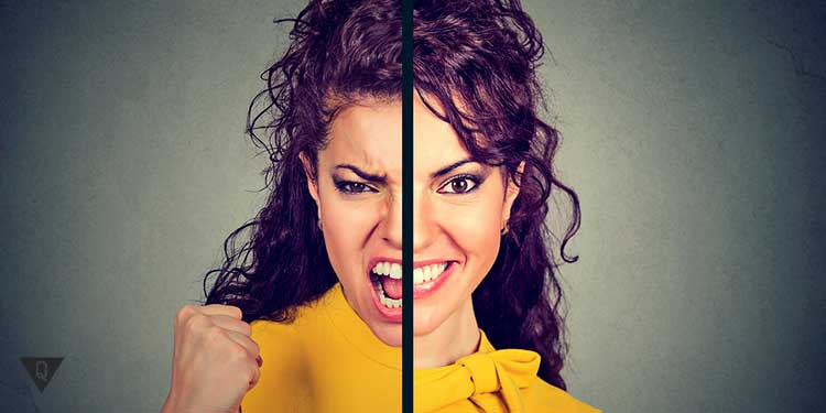 раздвоение личности девушки