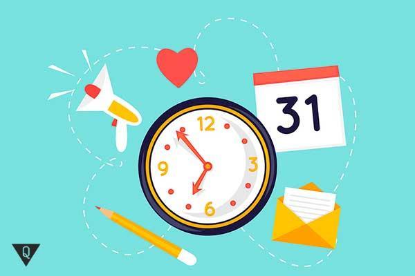 ежедневное расписание
