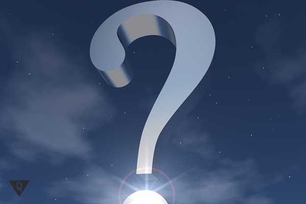 Знак вопроса как символ экзистенциальности
