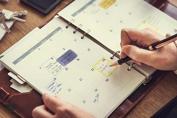 календарь для записей