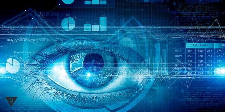 глаз человека фотошоп