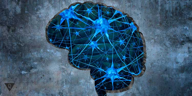 синий мозг