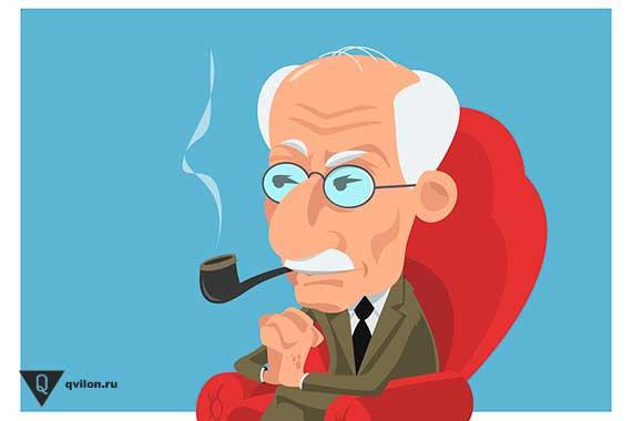 доктор юнг карикатура