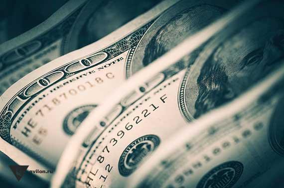 банкноты 100 долларов