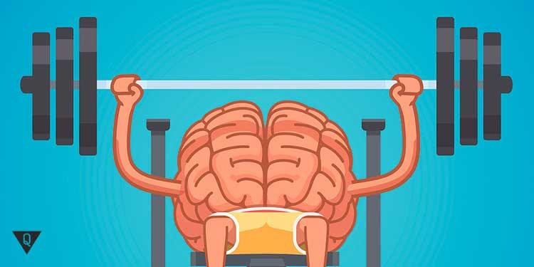 Мозг качается со штангой