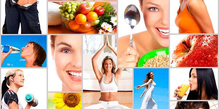 Коллаж здорового образа жизни