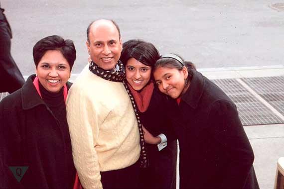 семья Индры Нуйи