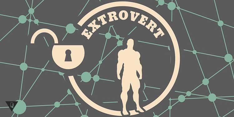 логотип экстроверта