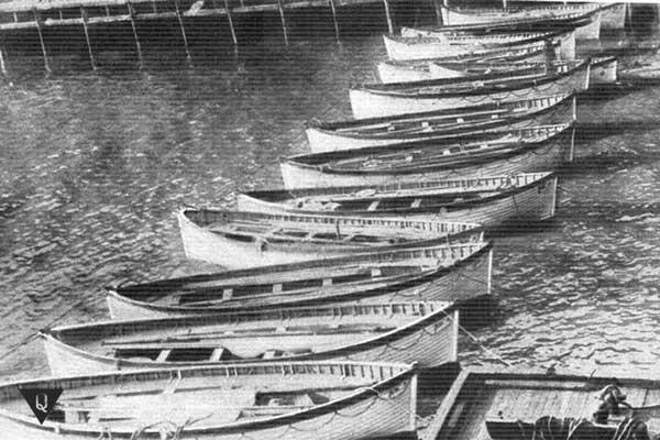 старое фото лодок