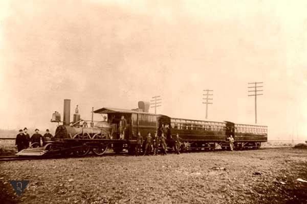 фото старого паровоза