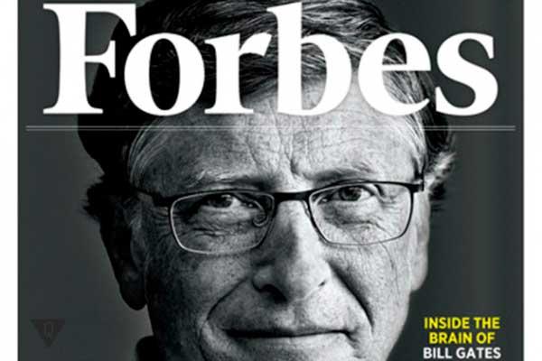 Билл Гейтс на обложке Forbes