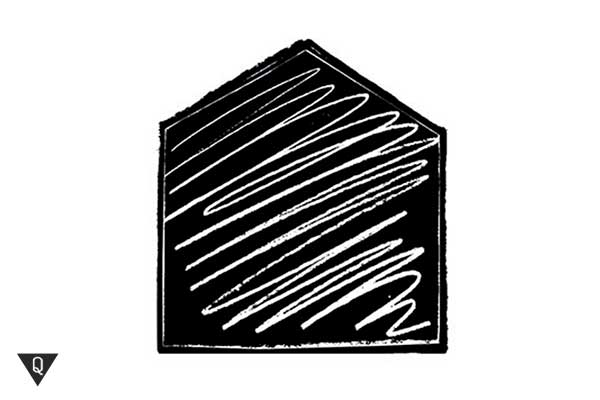 Черный домик теста де Боно