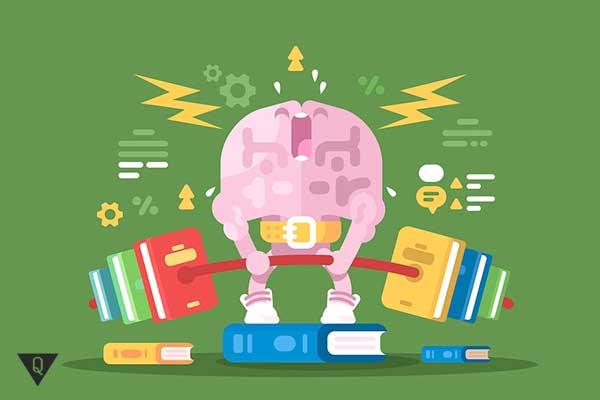 мозг тренируется книгами