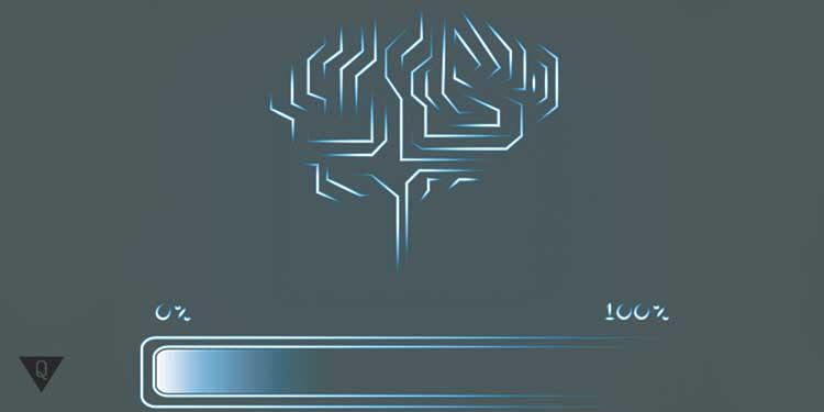 рисунок загрузки мозга