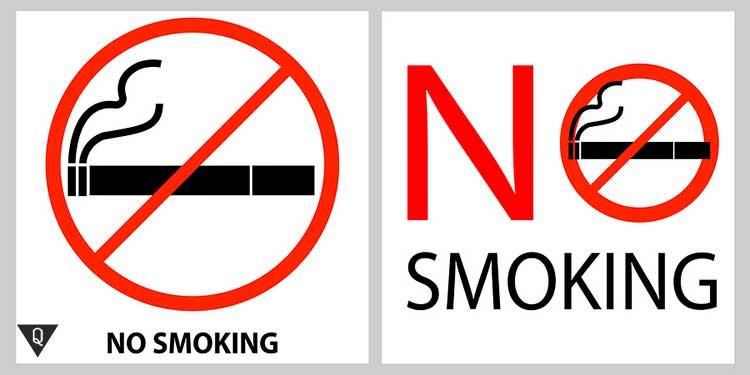 знаки запрещающие курить