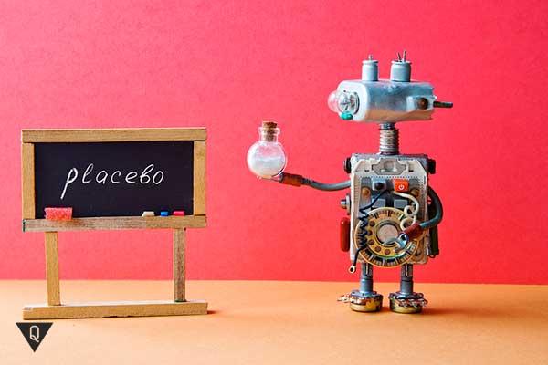 игрушечный робот написал placebo