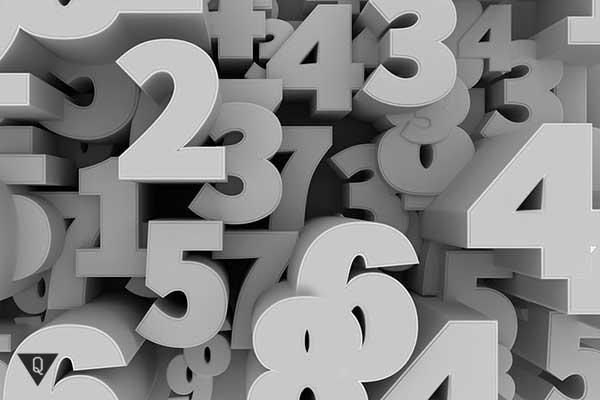 3д цифры