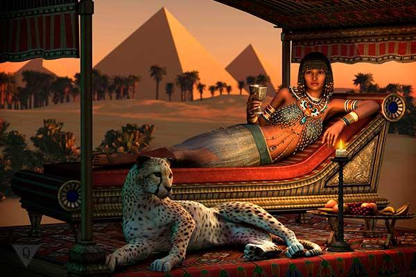 древняя египтянка