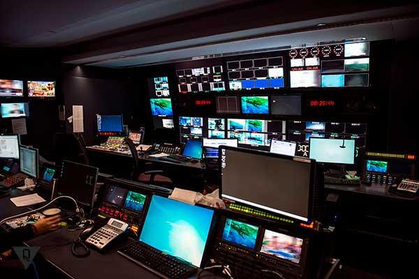 студия новостного канала