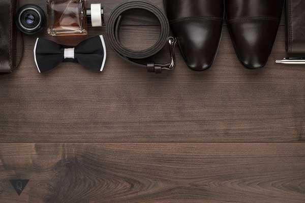 Мужские аксессуары коричневого цвета