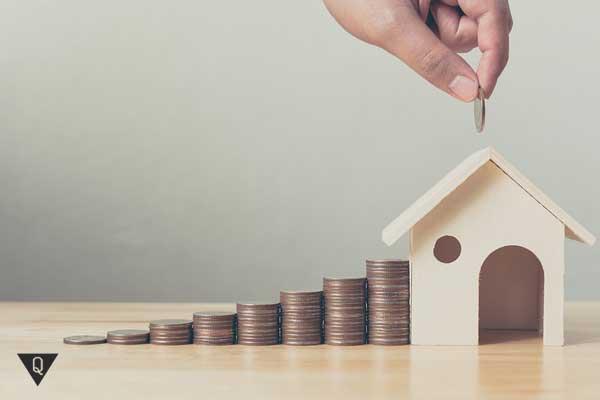 Деньги и домик, как символ накопления