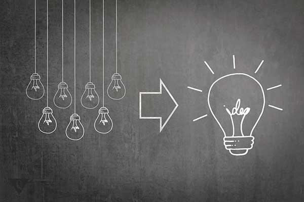 Много маленьких идей рождают одну большую