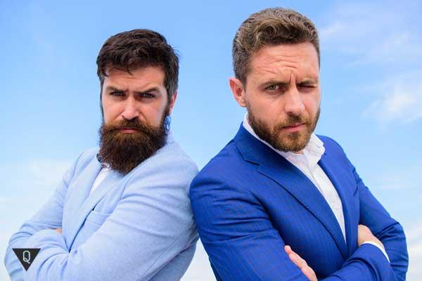 Два харизматичных мужчины
