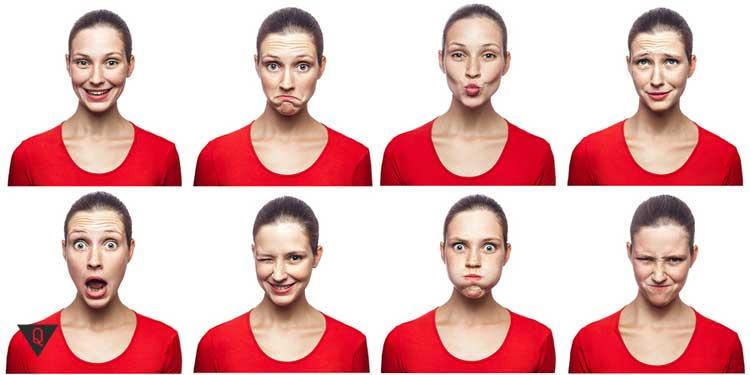 Фотографии девушки с разными чувствами и эмоциями