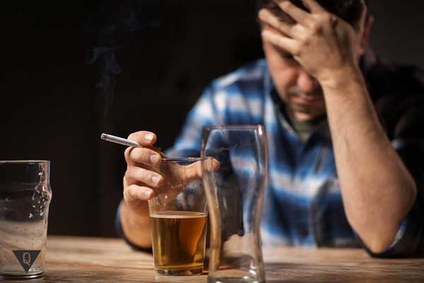 Алкогольная и никотиновая аддикция
