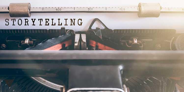 Печать слова storytelling