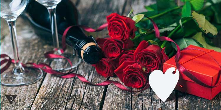 Розы и сердечко