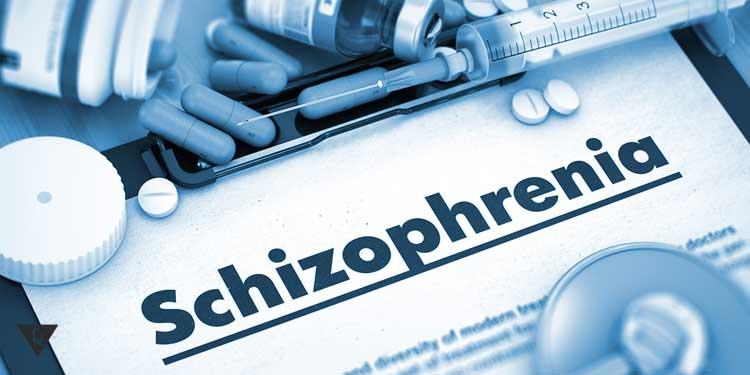 Надпись шизофрения