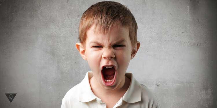 Агрессивный ребенок кричит
