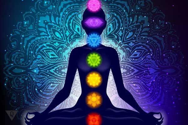 Рисунок всех чакр человека по цветам