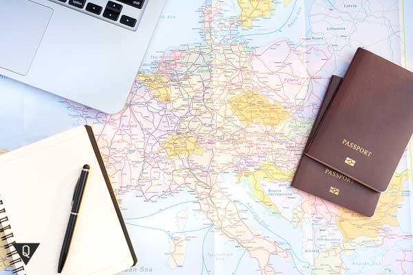 Паспорта на карте мира