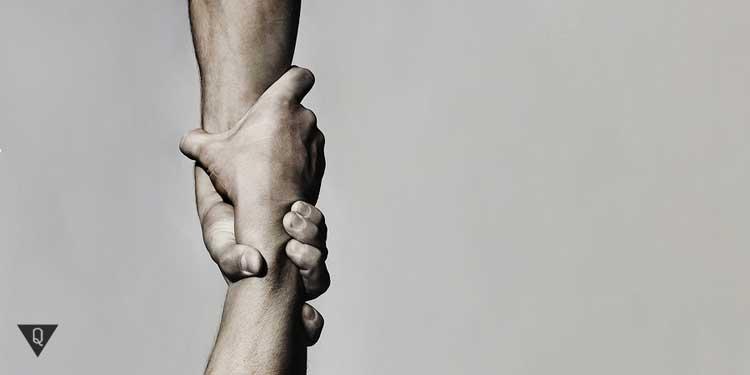 Подняться самому чтобы помочь другим
