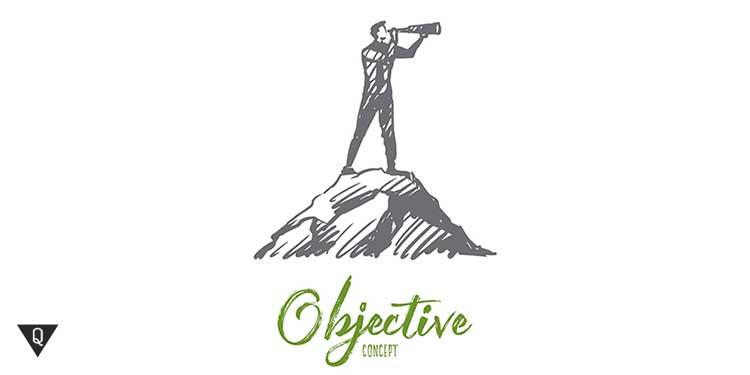 надпись объективность