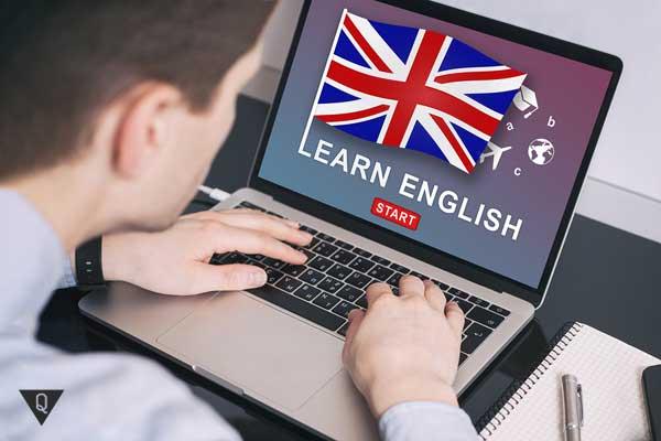 Аарень учит английский