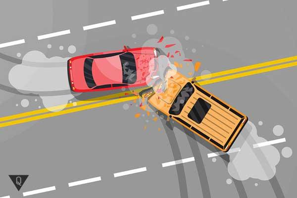 Авария двух машин
