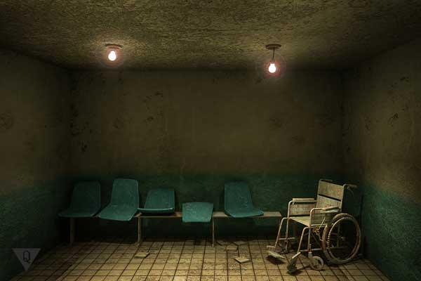 Опустевшая больница
