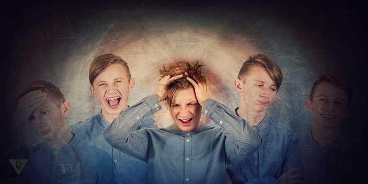 Парень с биполярным расстройством личности